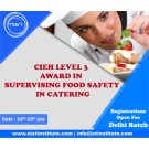 NIST-CIEH Level 3 Award for Haccp Food Safety Catering-Delhi