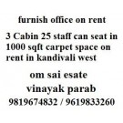 Office Spaces for Rent in Kandivali West Mumbai