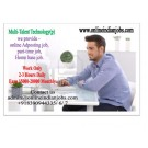 Copy Paste work-Online Jobs Wanted home based internet job worker
