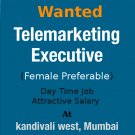 Urgent Required Telemarketing Executives