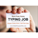 Online work from home and earn