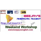 Beejay's American Accent for Indian IT Professionals One Day Workshop
