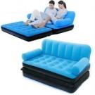 5 in1 Air Bed Sofa Velvet Brand