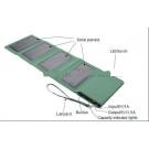 Folding solar mobile charger power bank 8000mAh 5W
