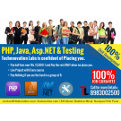 100 Percent JobGurantee with a  Live-Projects