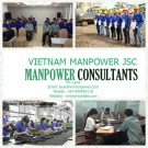A large of number workers from Vietnam Manpower JSC