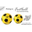 Printing On Football Football Printing