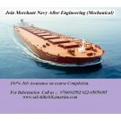 Join Merchant Navy after Engineering (B.E/B.TECH)