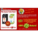 Piles Treatment At Home- PILE CURES TWIN PACK By Jhactions Homoeo