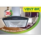 Ventair Kitchen Appliances - Complete range of maintenance free auto clean chimney