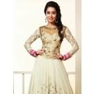 Shraddha Kapoor Traditional Styles Long Black Designer Anarkali Suits