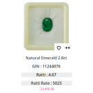 Get Experts advice on Wearing Natural Emerald Gemstone Certified Panna Stone