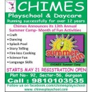 Summer Camp for Kids in Gurgaon - By Chimes Playschool