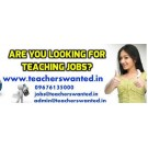 Pre primary teaching staff vacancies in Hyderabad- teaching jobs