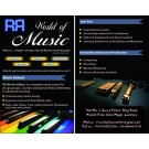Learn GUITAR VOCAL PIANO and DRUMS professionally