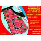 beautiful 3-4-5 cents plots in Kannamoola