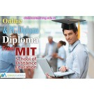 Online PG Diploma & Diploma Courses from MIT Distance learning