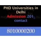 Admission in phd Commerce in Delhi 8010 00 0200
