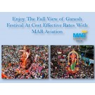 Enjoy Air Charter Services In India This Ganpati Festival