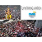 Enjoy Air Charter Services Awesome Ganpati View At Cost Effective Rates