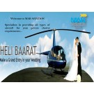 Hire Helicopter For Wedding And Make Grand Entry In Your Wedding