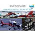 Private Helicopter Services In India With Mab Aviation At Cost Effective Rates And Best Fleets