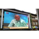 LED Truck Screen 3MM5MM Election campaign Promotion Event Patna Bihar Projector Rent