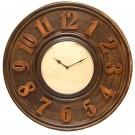 Numerical Elegant New wood round wall clock