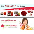 Bouquets to Chennai Online flower delivery Same day flower delivery