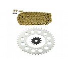 Gold Standard Chain Sprocket Kit 520 Pitch 88 Links