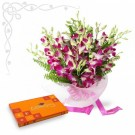 Orchid With Celebration