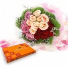 Surprising Rose With Celebration