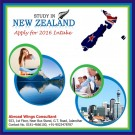 Study In New Zealand Last chance for 2015 Intake Apply for New Session 2016 Intake