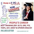 study in usa uk australia canada newzealand Best ielts gre pte coaching
