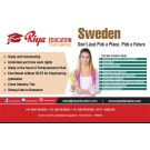 Sweden Education consultants - Riya Education Pvt Ltd