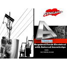 Required Fresh Electrical with Autocad knowledge for Singapore