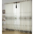 Luxurious Country Curtains in Beige Color