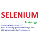 Selenium Up Date Trainer at Chennai
