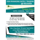 IOSH MANAGING SAFELY course training in kolkata- IOSH MS