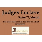 Judges Enclave Sector 77 Mohali 450 Square Yard Plot Near Main Entry