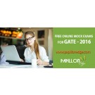 Online Mock Test for 2016 GATE Exams at Papillon Edge