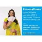 Personal Loan In 72 Hours - Sal 15K