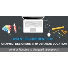 Job openings for GRAPHIC DESIGNERS in Hyderabad Location