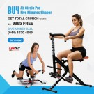 Buy Ab Circle Pro Five Minutes Shaper Get Total Crunch Worth Rs.9995 Free