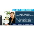 Huge Job Openings in BPO/BDE/Front Office Executives at Hyderabad