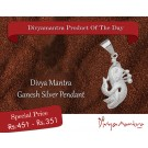 Buy Lord Ganesh Silver Pendant