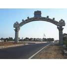 Rajiv gandhi memorial near land sales at sriperumbudur