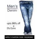 Use Coupon Code and Get Offers on Men Jeans at Low Price