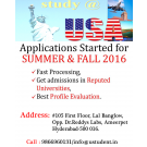 Study In USA Summer Fall - 2016