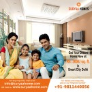 Buy 980 sq ft 2 BHK flats in Dwarka from Suryaa Homes